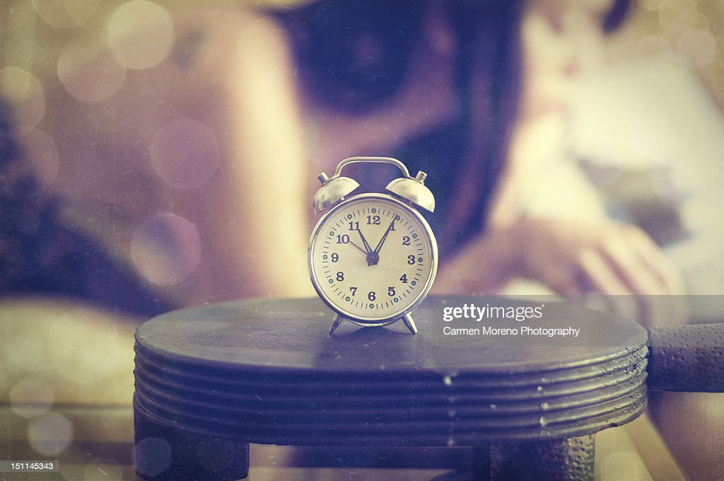 Table clock : Stock Photo