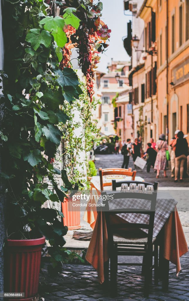 Table for Two : Stock Photo