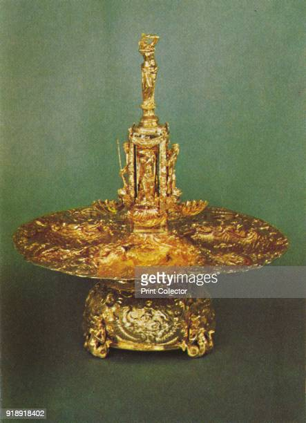 'Table Fountain' 1953 The piece is part of the Royal Collection at the Tower of London From The Crown Jewels by Martin Holmes FSA [Her Majesty's...
