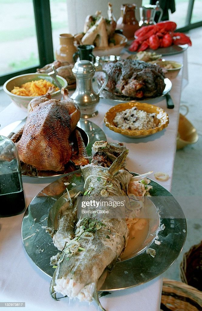 The First Thanksgiving At Plimouth Plantation : News Photo