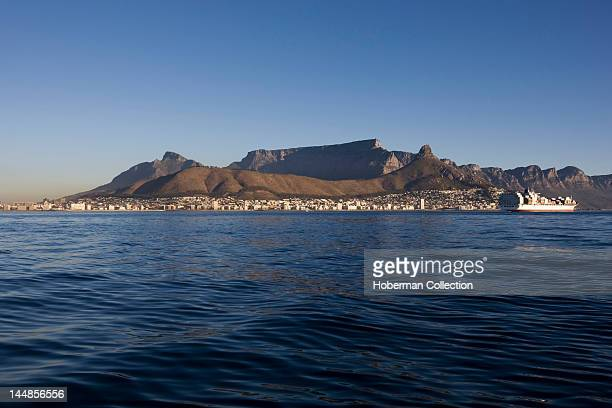 Table Mountain and Lion's Head Cape Town South Africa