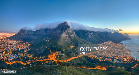 La Montagne De La Table Le Cap Afrique Du Sud Photo Getty Images