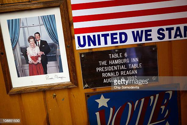 Table number 6 at the Hamburg Inn No 2 also called the Presidential Table is a famous stop for presidential hopefuls campaigning for support in the...