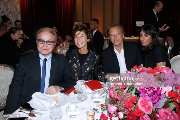 Table of Dior Orlando Sylvie Rousseau Alexandre Arcady and Sabrina Guigui attend the Charity Gala to Benefit the 'Princess Diya Kumari of Jaipur'...