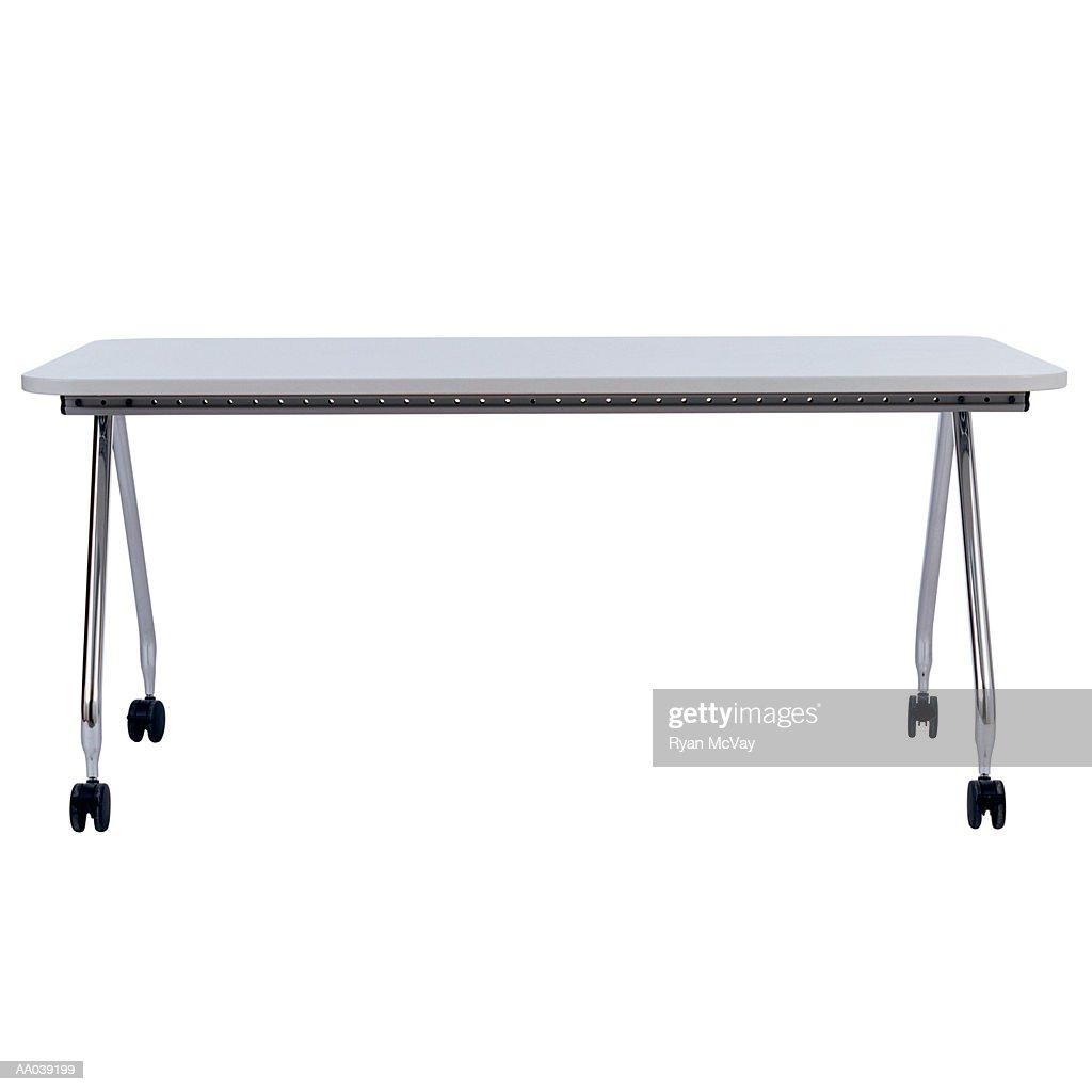 Table on Wheels : Bildbanksbilder