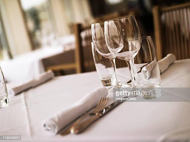 Restaurant table de salle à manger