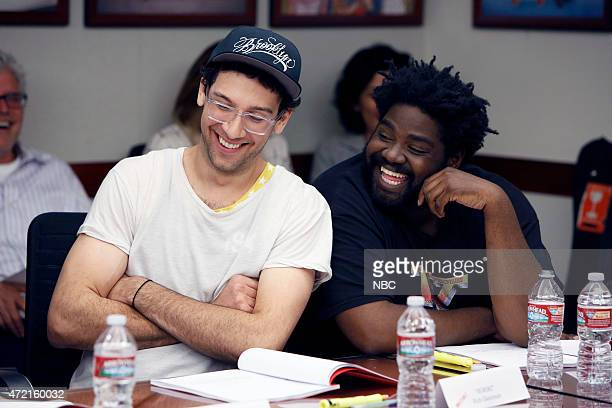 UNDATEABLE Table Read Pictured Rick Glassman Ron Funches
