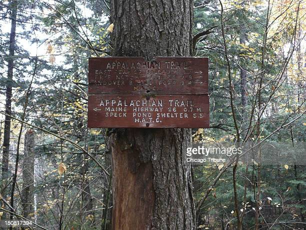 Table Rock trail in western Maine includes part of the Appalachian Trail