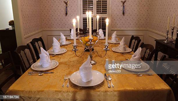 Table Set for a Feast