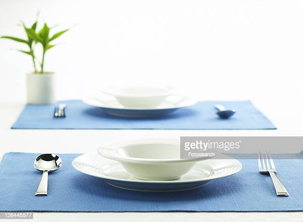 Table Setting facing each other