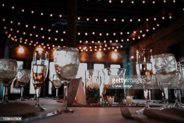 table setting - wedding reception stock pictures, royalty-free photos & images