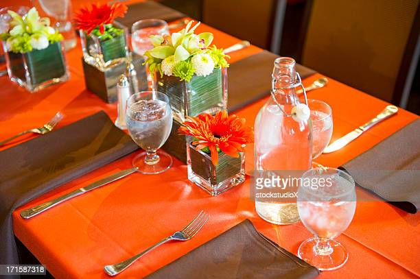 table setting - banquet hall stock pictures, royalty-free photos & images