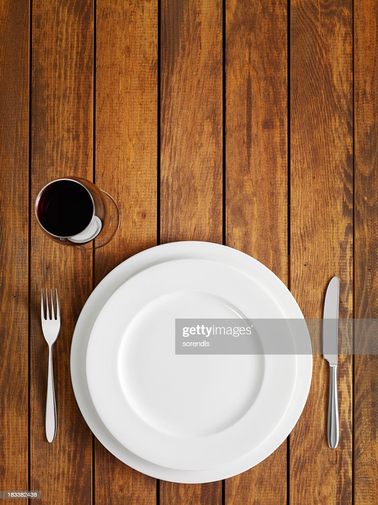 テーブルのセッティング : ストックフォト