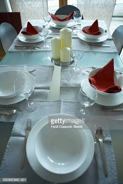 table setting - heidi coppock beard stockfoto's en -beelden