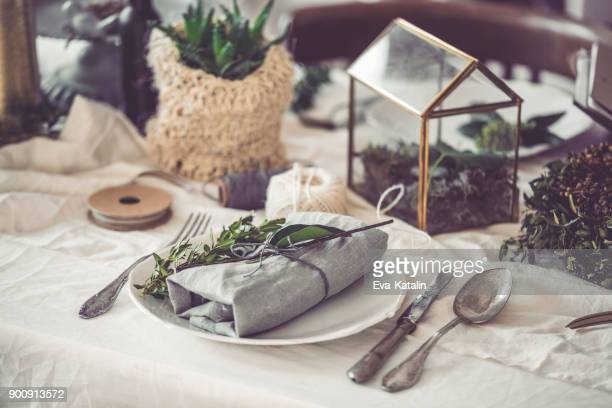 table setting - napkin stock pictures, royalty-free photos & images