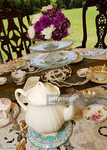 Table Settings for a Tea Party