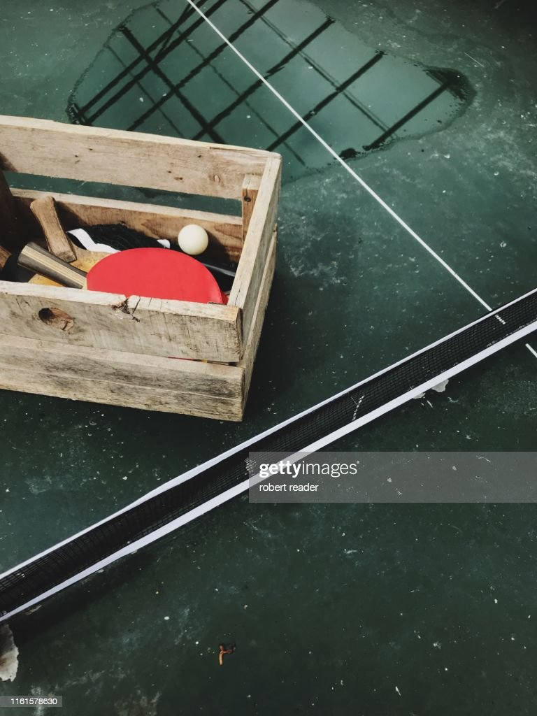 Table tennis table : Stock Photo