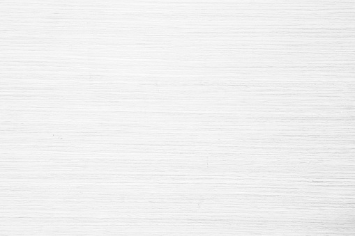 Table top view of wood texture in white light natural color background. Grey clean grain wooden floor birch panel backdrop with plain board pale detail streak finishing for chic space clear concept. 1131684868