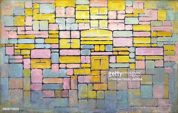 Tableau no 2 composition no V 1914 Oil on canvas