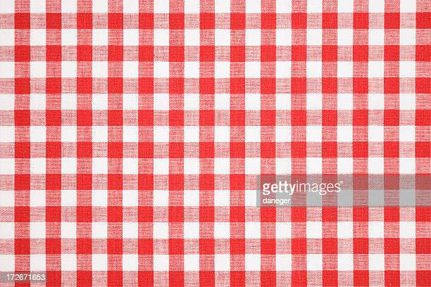Tablecloth texture-checked fabric