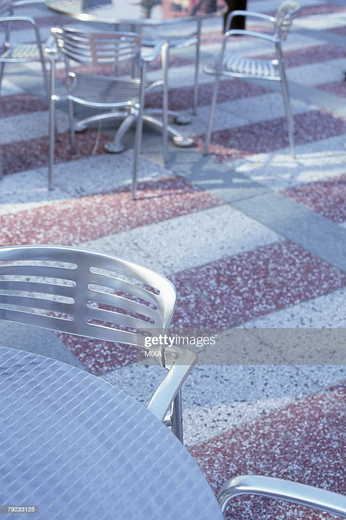 Tables and chairs : Stock Photo