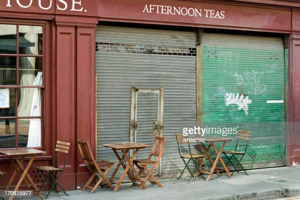 Tables and shutters