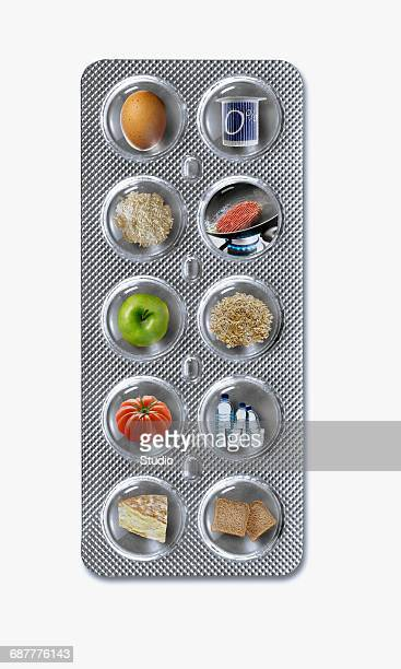 Tablet of products for the Dukan Diet : strenghtening phase