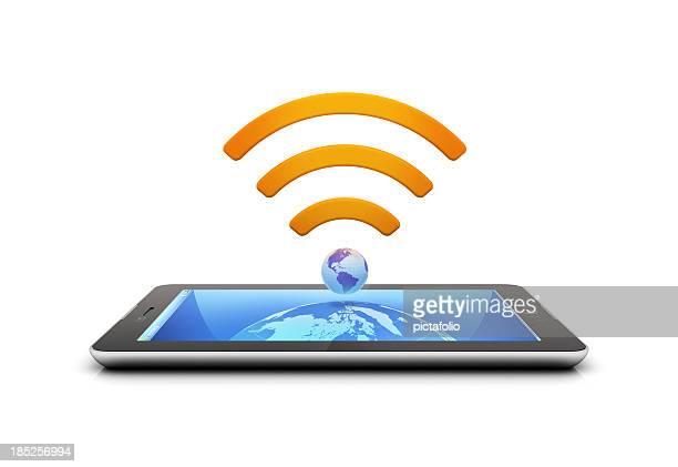 タブレット、携帯接続