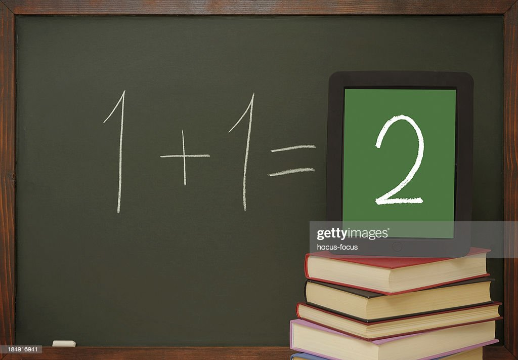 Tablet pc in school : Stock Photo