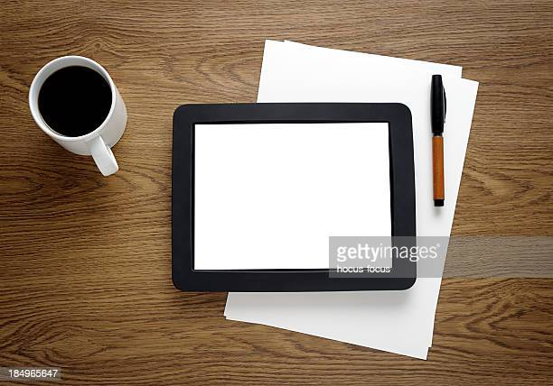 Tablet PC with a blank screen
