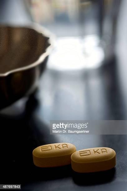 Tablets, Kaletra, anti-AIDS drug, HIV protease inhibitor