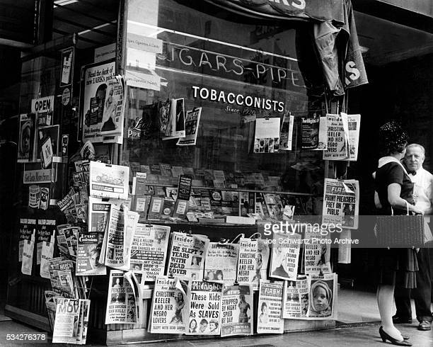 Tabloids for Sale at Tobacco Shop