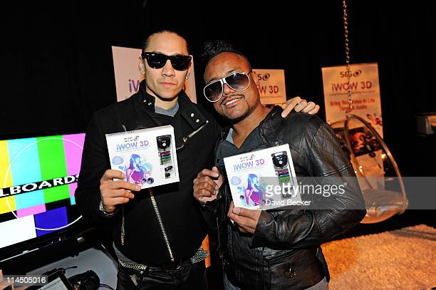 Taboo and Apldeap of The Black Eyed Peas attends the Backstage Creations Celebrity Retreat at the 2011 Billboard Music Awards at MGM Grand Garden...