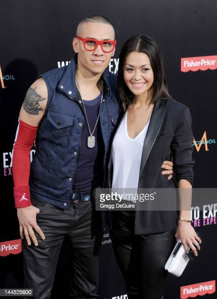 Taboo and Jaymie Dizon arrive at the Los Angeles premiere of What To Expect When You're Expecting at Grauman's Chinese Theatre on May 14 2012 in...