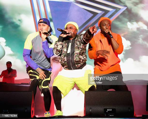 Taboo apldeap and WillIAm from the Black Eyed Peas perform in concert during the 2019 KAABOO Del Mar at Del Mar Race Track on September 14 2019 in...