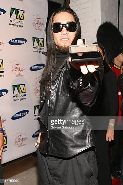 """Taboo during Samsung Celebrates Release of the K5MP3 Player and Fergie's Debut Album """"The Dutchess"""" at Tenjune in New York, NY, United States."""