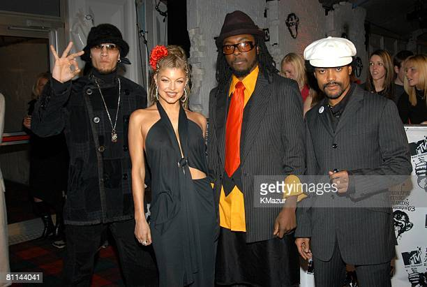 Taboo Fergie WillIAm and apldeap of The Black Eyed Peas
