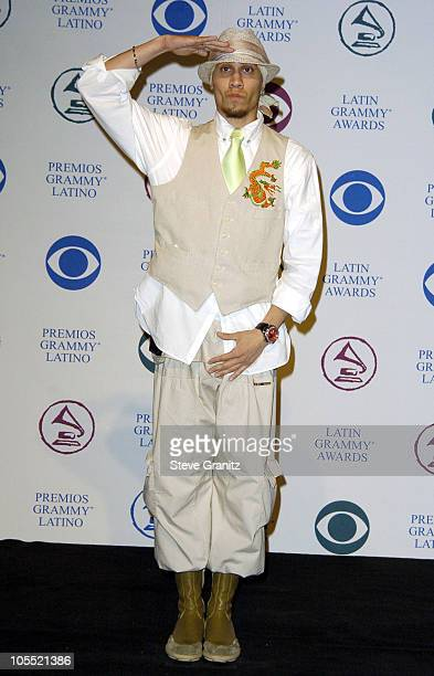 Taboo from Black Eyed Peas during The 5th Annual Latin GRAMMY Awards Press Room at Shrine Auditorium in Los Angeles California United States