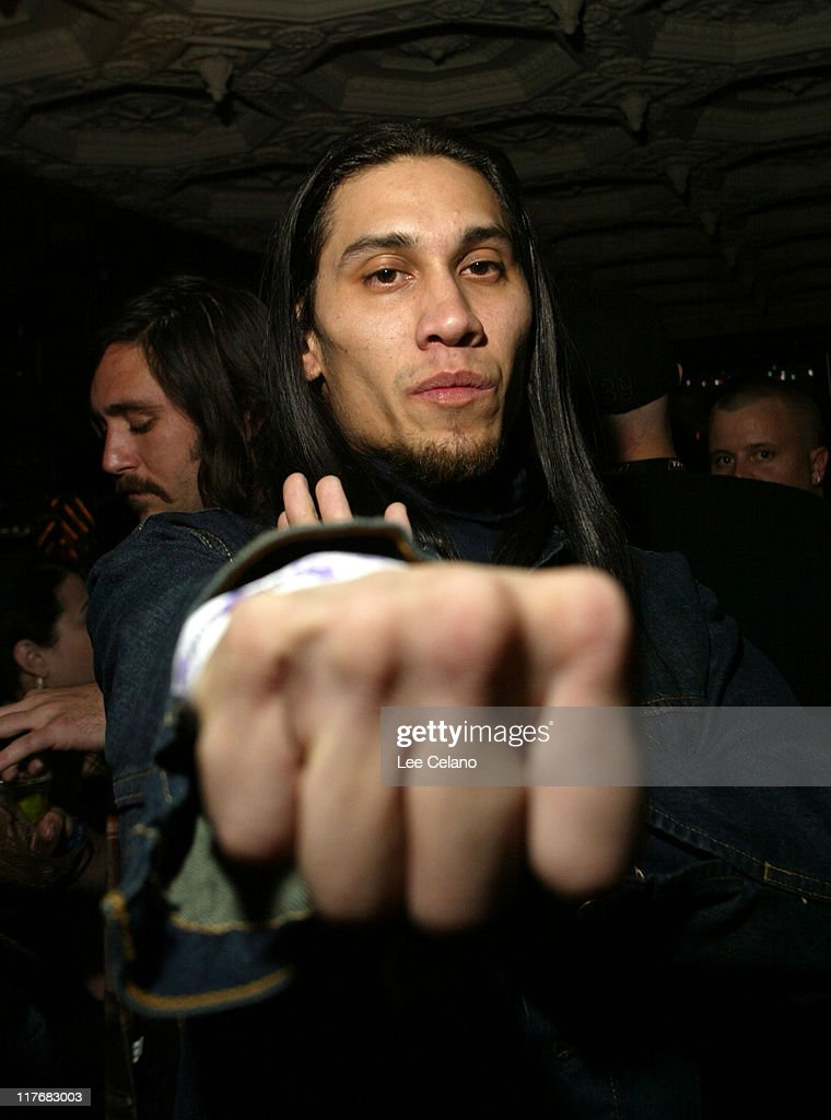 Taboo of Black Eyed Peas during THQ Kicks off 3rd Annual WWE Superstar Challenge at House of Blues at House of Blues in West Hollywood, California, United States.