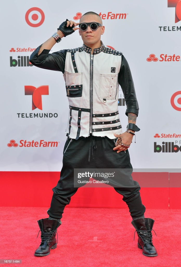 Taboo of The Black Eyed Peas arrives at Billboard Latin Music Awards 2013 at Bank United Center on April 25, 2013 in Miami, Florida.