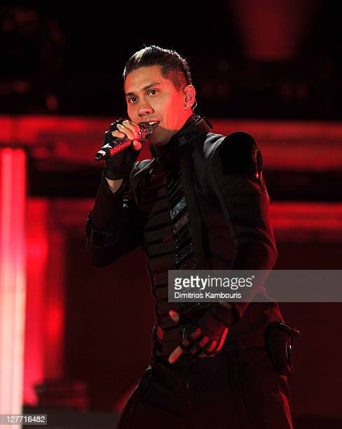 Taboo of The Black Eyed Peas perform onstage during CHASE Presents The Black Eyed Peas and Friends Concert 4 NYC benefiting the Robin Hood Foundation...