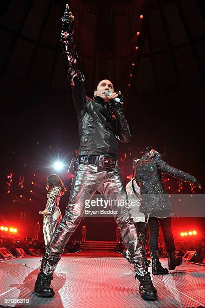 Taboo of the Black Eyed Peas performs at Madison Square Garden on February 24 2010 in New York City