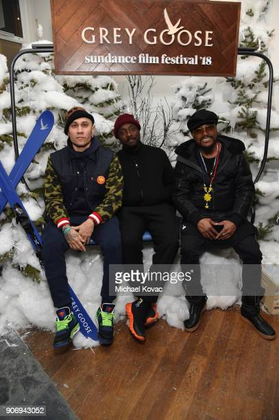 Taboo william and apldeap attend the 'Hearts Beat Loud' afterparty at the Grey Goose Blue Door during Sundance Film Festival on January 18 2018 in...