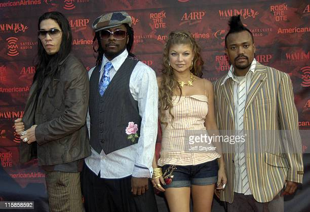 Taboo william Fergie and apldeap of Black Eyed Peas