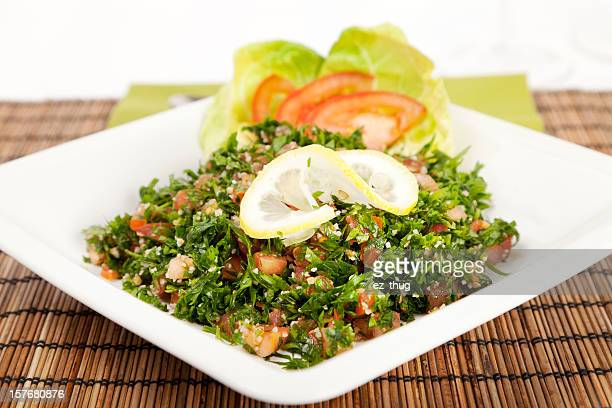 tabouleh salad - tabbouleh stock pictures, royalty-free photos & images