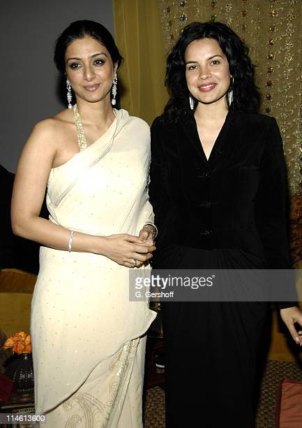 Tabu and Zuleikha Robinson during The Namesake New York City Premiere After Party at 711 Greenwich Street in New York City New York United States