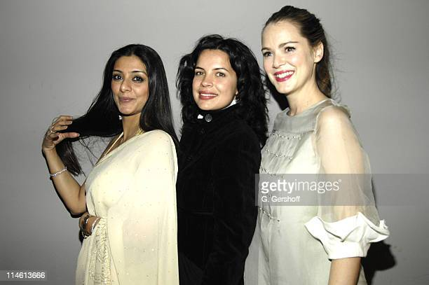 Tabu Zuleikha Robinson and Jacinda Barrett during The Namesake New York City Premiere After Party at 711 Greenwich Street in New York City New York...