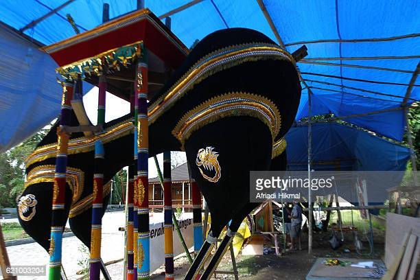 tabuik - muharram stock pictures, royalty-free photos & images