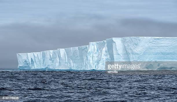 iceberg Tabulares en la Antártida