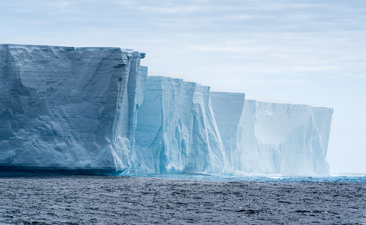 Tabular iceberg in Antarctica 516180846